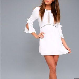 Amuse Society White Sheath Dress
